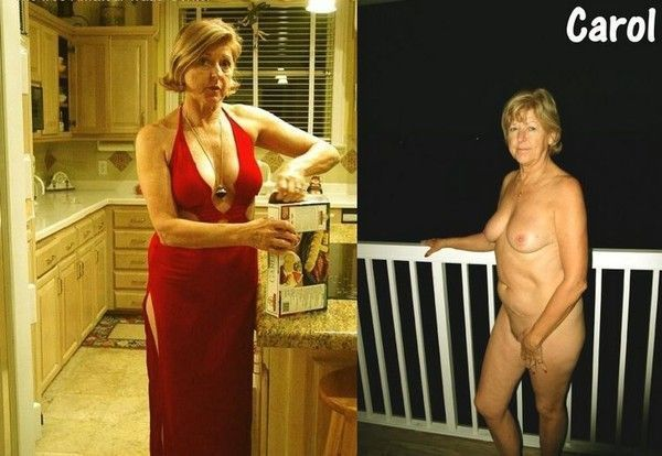 nue et habillée
